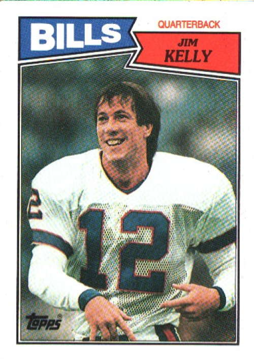 JIM KELLY 1987 TOPPS ROOKIE RC #362 CK230