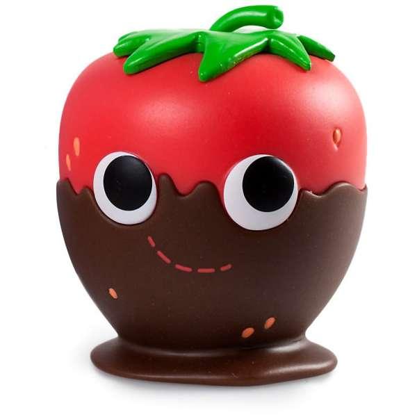 Yummy World Tasty Treats Vinyl Mini Series Kidrobot Chocolate Strawberry 1//24