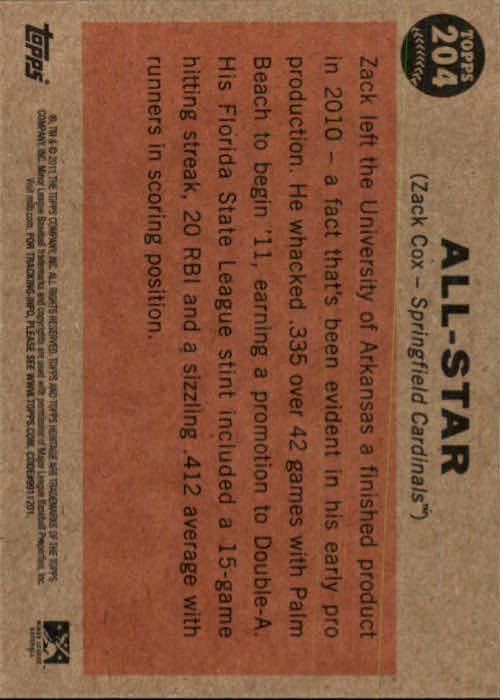 2011-Topps-Heritage-Minors-U-Pick-Pick-em-Fill-Complete-Your-Set-BX-26N thumbnail 9