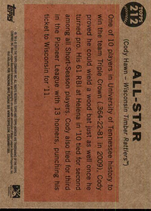 2011-Topps-Heritage-Minors-U-Pick-Pick-em-Fill-Complete-Your-Set-BX-26N thumbnail 21
