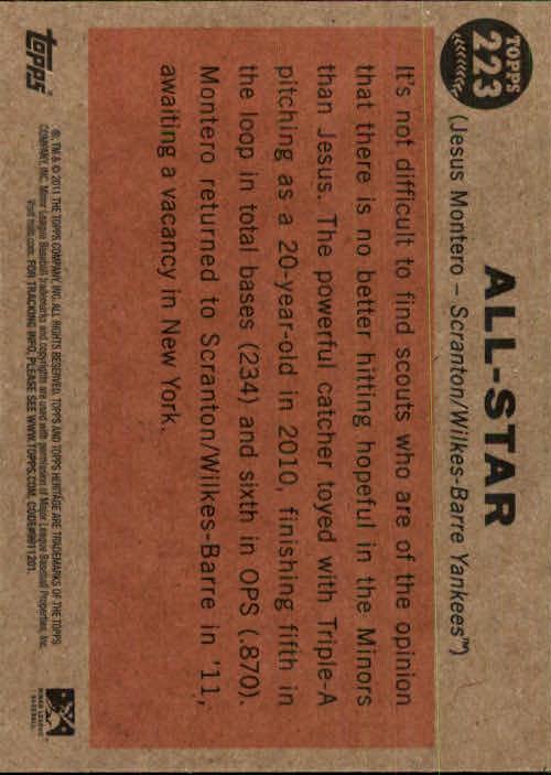 2011-Topps-Heritage-Minors-U-Pick-Pick-em-Fill-Complete-Your-Set-BX-26N thumbnail 38