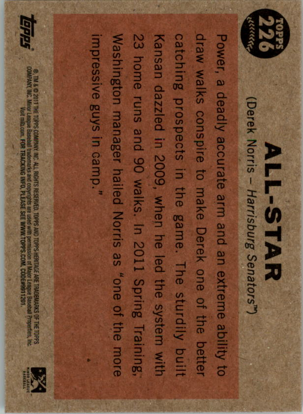 2011-Topps-Heritage-Minors-U-Pick-Pick-em-Fill-Complete-Your-Set-BX-26N thumbnail 41