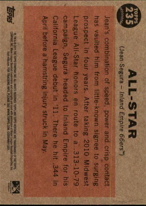 2011-Topps-Heritage-Minors-U-Pick-Pick-em-Fill-Complete-Your-Set-BX-26N thumbnail 47