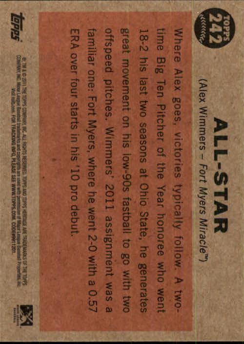 2011-Topps-Heritage-Minors-U-Pick-Pick-em-Fill-Complete-Your-Set-BX-26N thumbnail 56