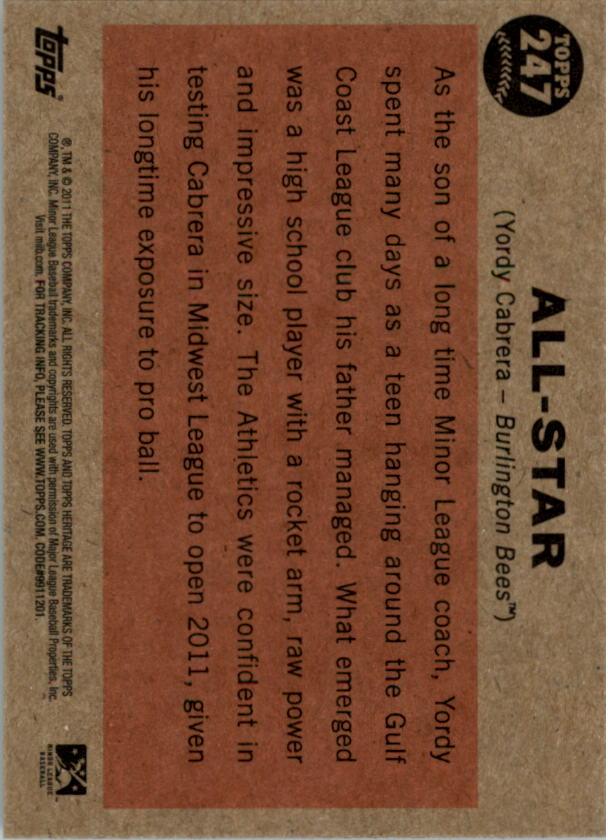 2011-Topps-Heritage-Minors-U-Pick-Pick-em-Fill-Complete-Your-Set-BX-26N thumbnail 63